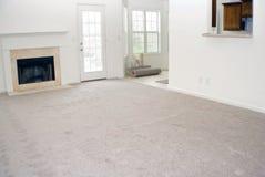 地毯安装新的乙烯基 免版税库存照片