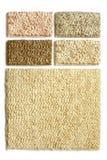 地毯收集范例 免版税图库摄影