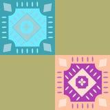 地毯样式2 库存例证