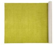 地毯橄榄色白色 库存图片