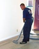 地毯清洁蒸汽 库存照片