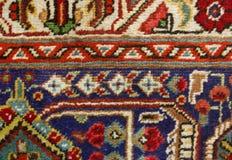 地毯特写镜头 免版税库存图片