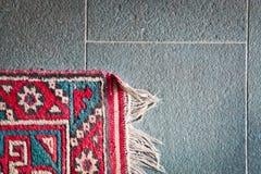 地毯的角落 免版税库存图片