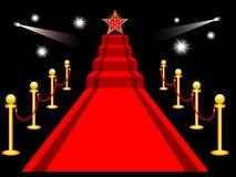 地毯红色 皇族释放例证