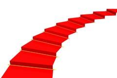 地毯红色 向量例证