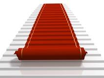 地毯红色 免版税图库摄影