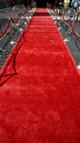 地毯红色 库存图片