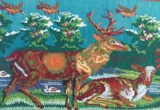 地毯编织 免版税库存图片