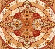 地毯花卉向量 皇族释放例证