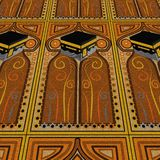 地毯kabah祷告 库存照片