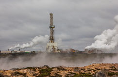 地热区域,冰岛。 免版税库存图片