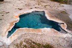 地热喷泉 库存图片