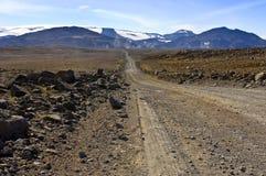地热的沙漠 免版税库存照片