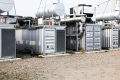 地热能量岗位 免版税图库摄影