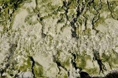 地热水小河  免版税库存照片