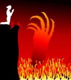 地狱传染媒介 皇族释放例证