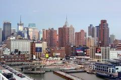 地狱厨房在曼哈顿中城 库存图片