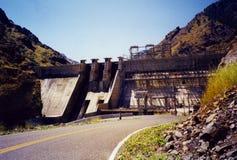 地狱在斯内克河-爱达荷的峡谷水坝 库存照片