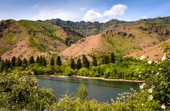 地狱峡谷全国度假区 免版税库存图片