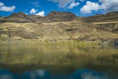 地狱峡谷,爱达荷 库存照片