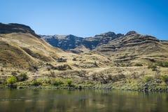 地狱峡谷,爱达荷 免版税库存图片