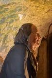 14/01/2018地狱火洞,西部Wycombe Benjamin Franklin 免版税库存照片