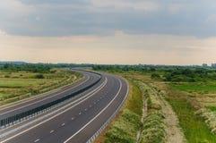 地狱高速公路 免版税库存图片