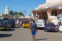 地狱Ville,香是,马达加斯加 免版税库存照片