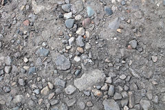 地球、石头和沙子 免版税库存照片