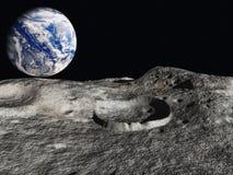 地球上升 免版税库存图片