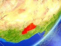 地球上的布基纳法索与网络 皇族释放例证