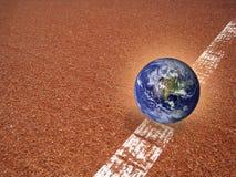 地球不是(2) 图库摄影
