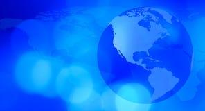 地球世界技术背景 库存照片