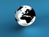 地球世界 免版税库存照片