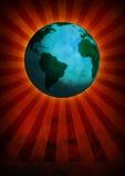 地球世界 库存图片