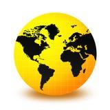 地球世界 向量例证