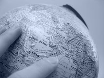 地球东部中间研究 免版税库存图片