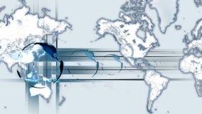 地球主题的行动背景 股票录像