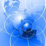 地球互联网 免版税库存图片