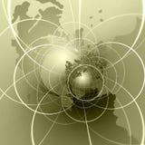地球互联网 库存例证