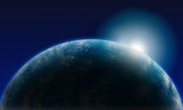 地球亮光 免版税库存图片