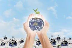 地球保存 图库摄影