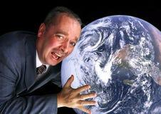 地球保存 免版税图库摄影