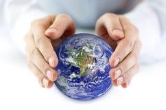 地球保护 免版税库存照片