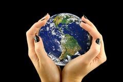地球保护 免版税图库摄影