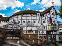 地球剧院在伦敦, hdr 免版税库存图片