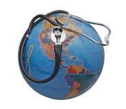 地球医疗保健病态的系统我们 免版税图库摄影
