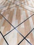 地球口气木头木条地板 免版税库存图片