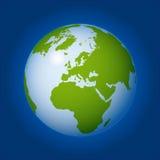 地球向量世界 免版税库存图片