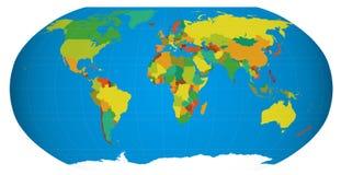 地球向量 图库摄影